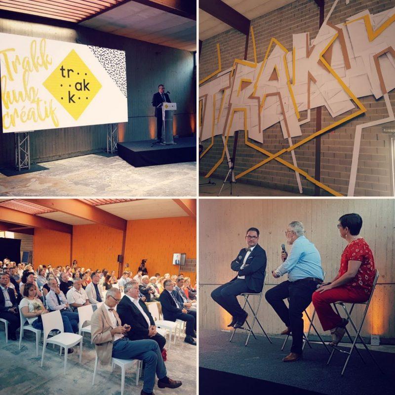 Lancement du chantier du TRAKK, le hub créatif namurois