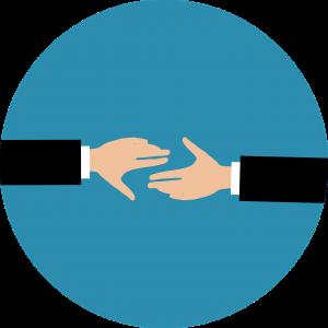 Poignée de mains partenariat