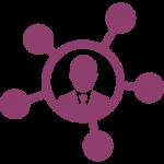 icône réseau professionnel